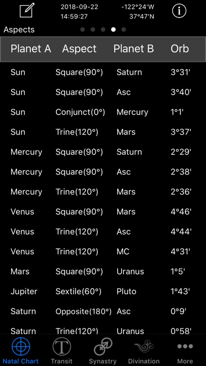 Easy Astro Astrology Charts screenshot-5