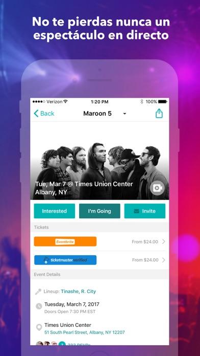 download Bandsintown Concerts apps 2