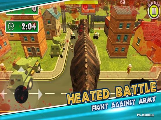 Dino Simulator - City Rampage screenshot 4