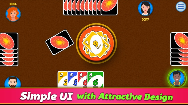 One: Ono Four Color Card Game screenshot-3