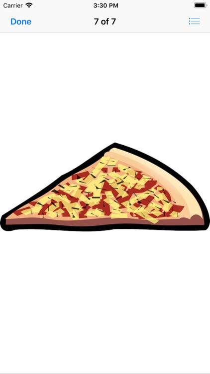 Pizza Sticker Pack screenshot-7