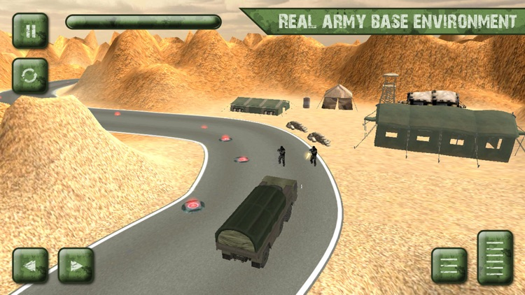 Army Cargo Truck Transport Sim screenshot-3