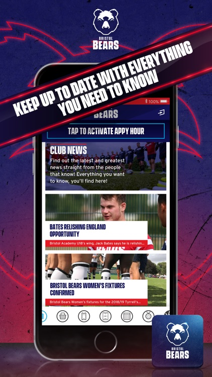 Bristol Bears Official App screenshot-1