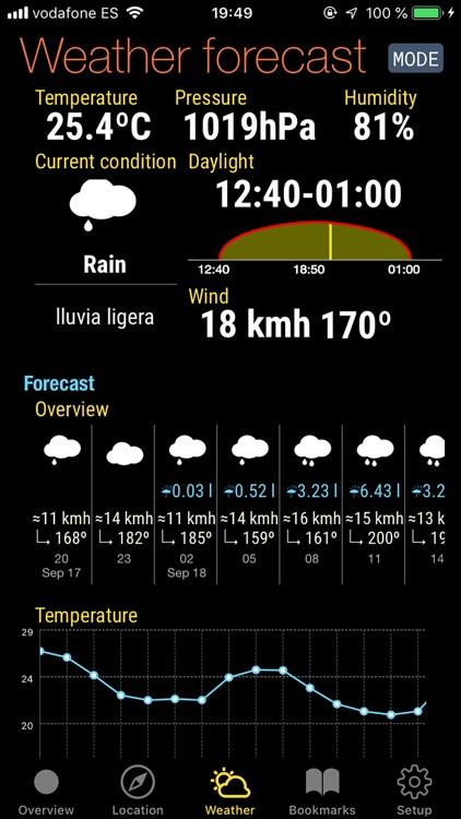 Quickgets Geo: geodata widgets screenshot-4
