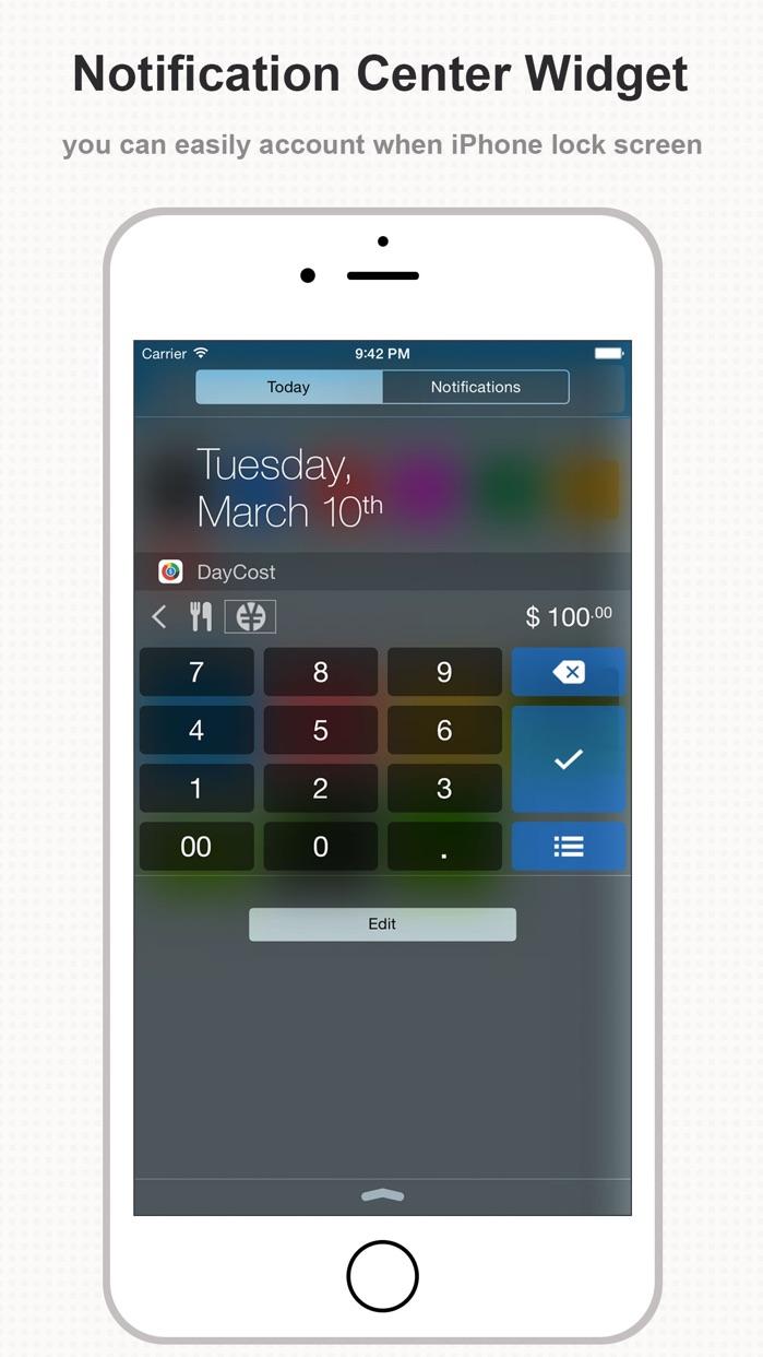 DayCost Pro - Personal Finance Screenshot