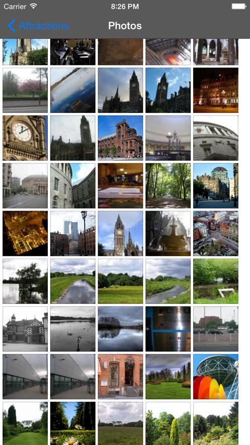 Manchester Travel Guide Offline App 截图