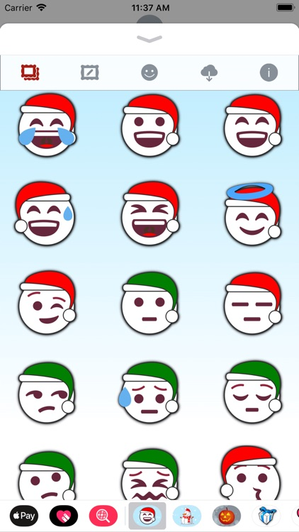 Christmas Emoji • Stickers screenshot-3
