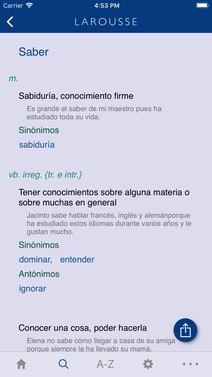 Larousse Spanish Basic screenshot-3