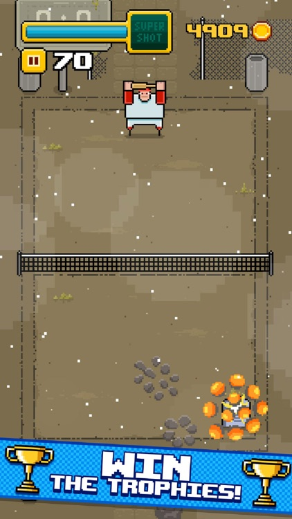 Timber Tennis screenshot-3