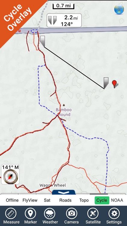 Bryce Canyon National Park - GPS Map Navigator