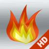 Kamin HD: Romantische Hintergründe für Entspannung