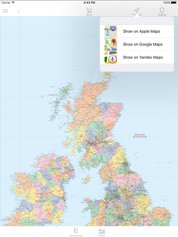 United Kingdom And Ireland Political Map App Price Drops