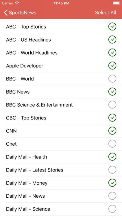News Pro - Top News RSS Reader screenshot-3