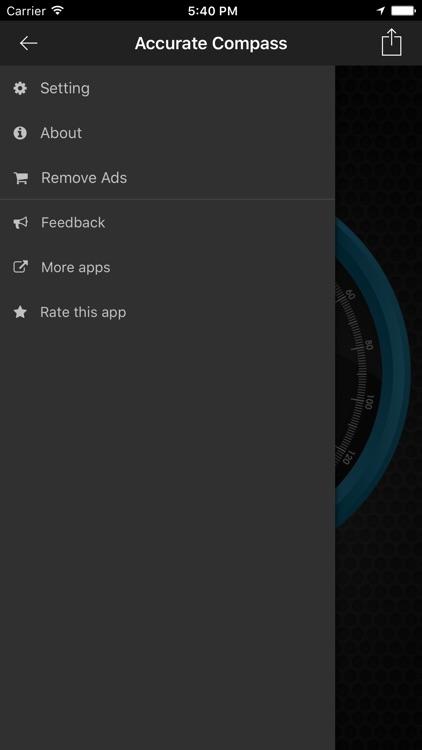 Accurate Compass Navigation screenshot-3