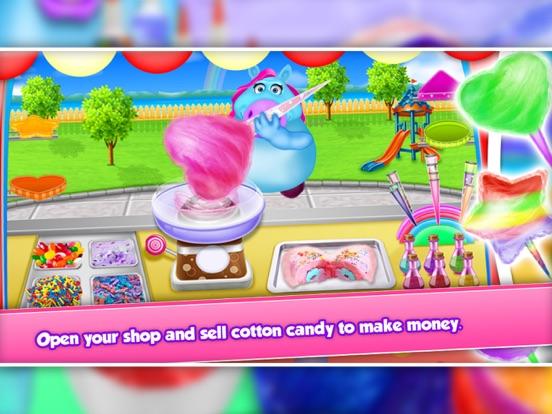 Fat Unicorn Cotton Candy Shop screenshot 9