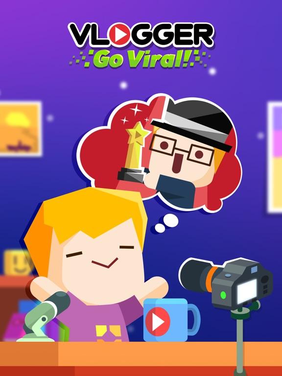 Игра Vlogger Go Viral - видео канал
