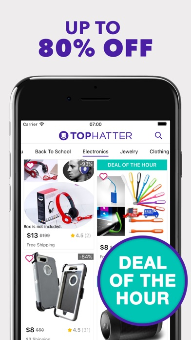 Download Tophatter - 90 Second Auctions for Pc