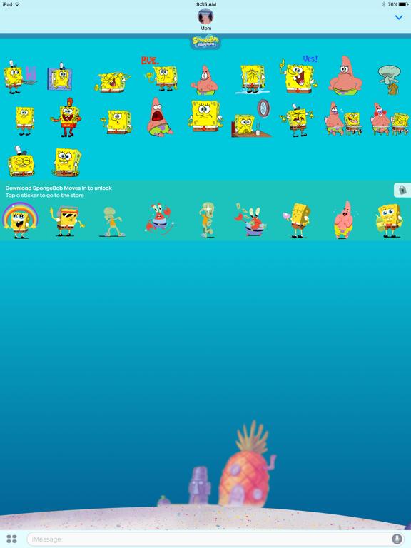 SpongeBob Stickers! screenshot 6