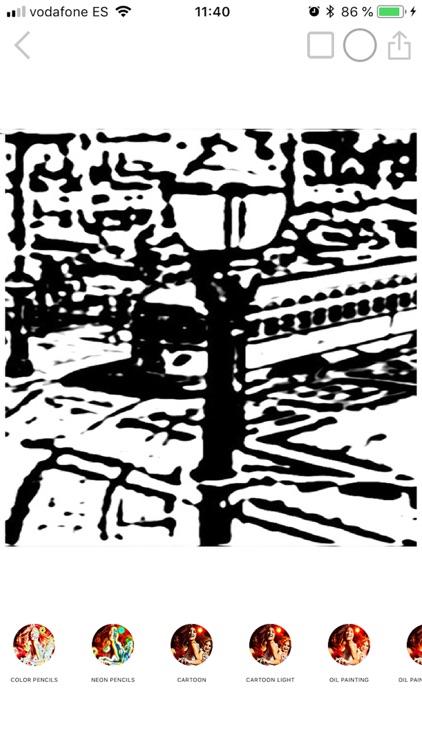 Photo pencil drawing sketch screenshot-5