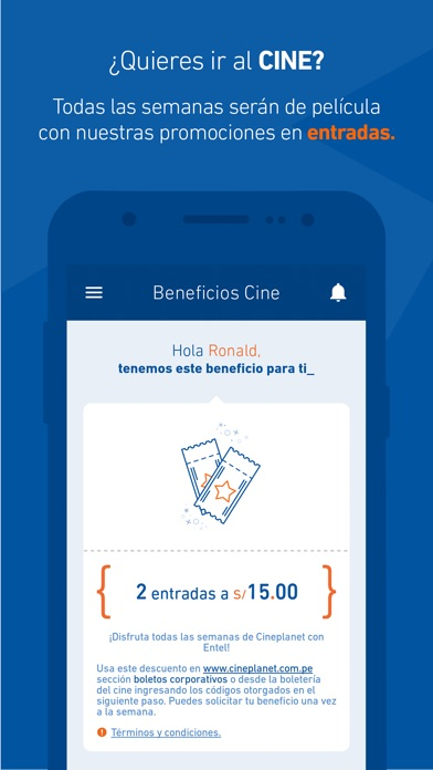 Screenshot for Mi Entel Perú in Peru App Store