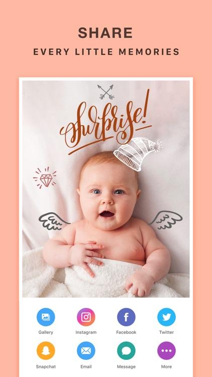 Baby Photo Editor Effects screenshot-4
