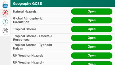 Geography GCSE Pocket Poster screenshot one
