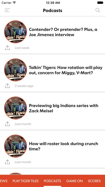 Tigers Xtra screenshot-2