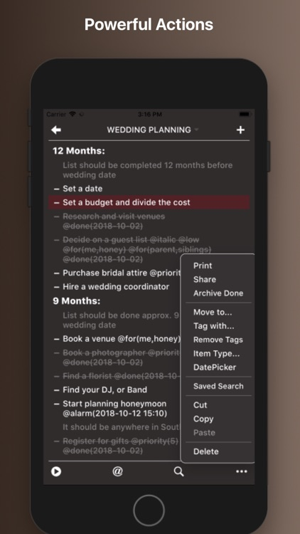 Taskmator - TaskPaper Client screenshot-5