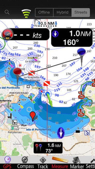 Screenshot of Isola d'Elba GPS Carta Nautica4