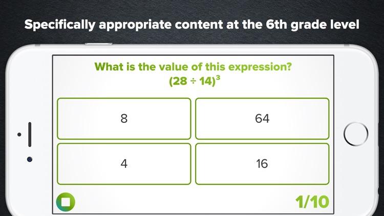 6th Grade Math Practice screenshot-0