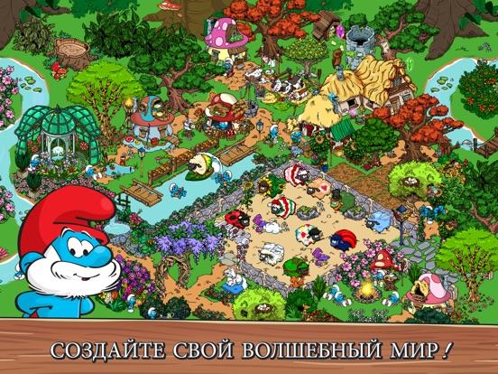 Smurfs' Village на iPad