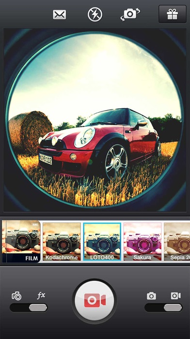 InFisheye -Fisheye Lens Camera Screenshots