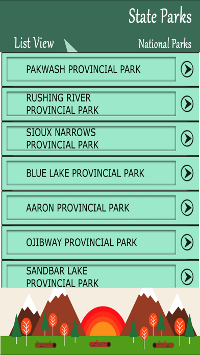 State Parks In Ontario screenshot two