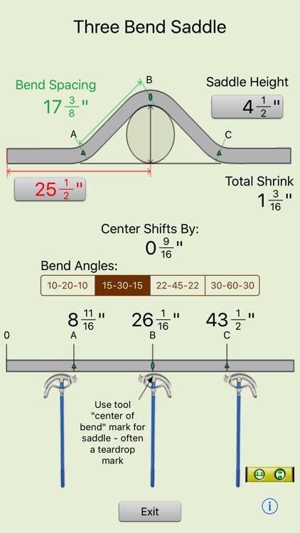 Conduit Bender Elite - Calculator for Electricians screenshot-3