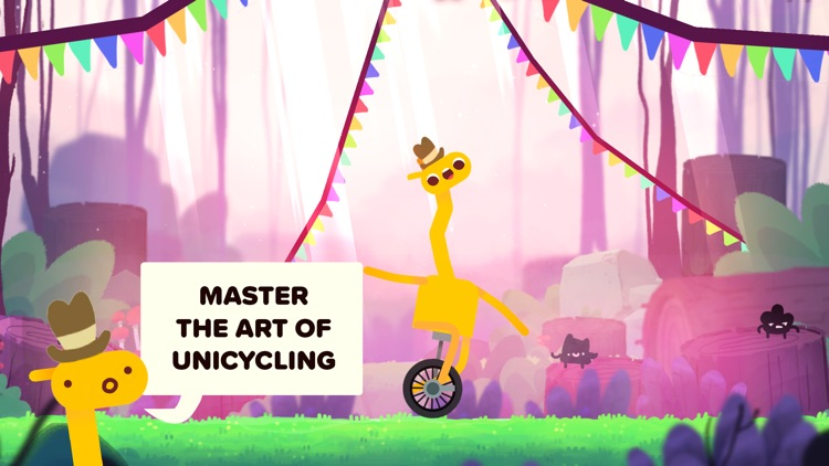 Unicycle Giraffe