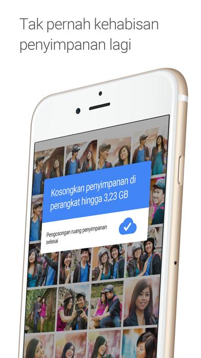 Screenshot for Google Foto in Indonesia App Store