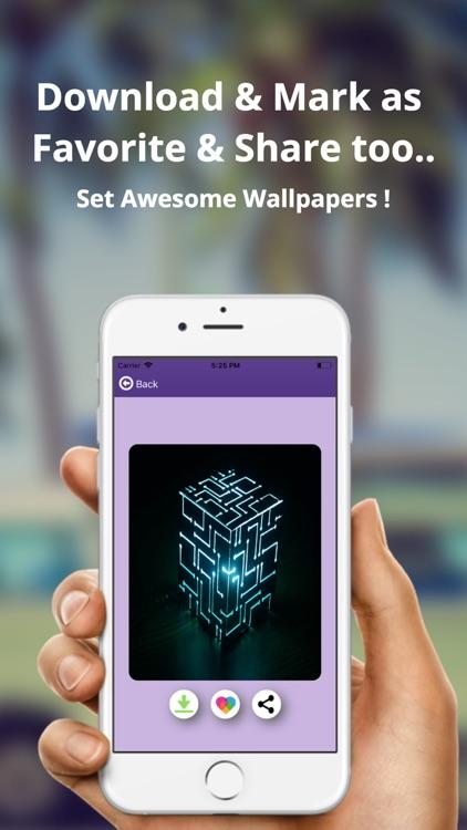 Neon Wallpapers - SuperHeroes screenshot-3