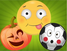 Big collection of funny Emojis