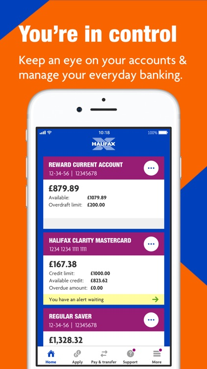 Halifax Mobile Banking screenshot-2
