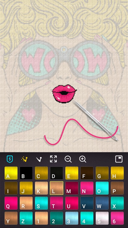Cross-Stitch : Color by Number screenshot-1