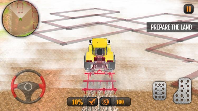 Farming Tractor Simulator : 3D screenshot-3