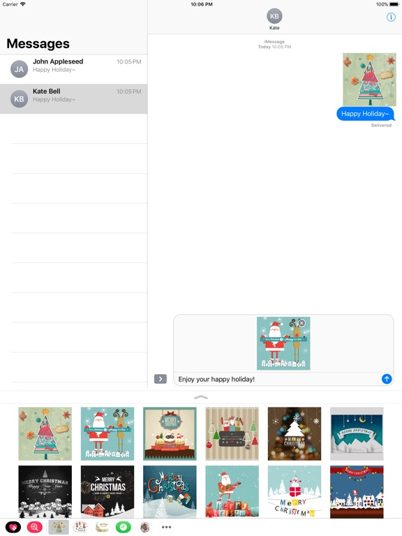 Animated Christmas Stickers - screenshot 7