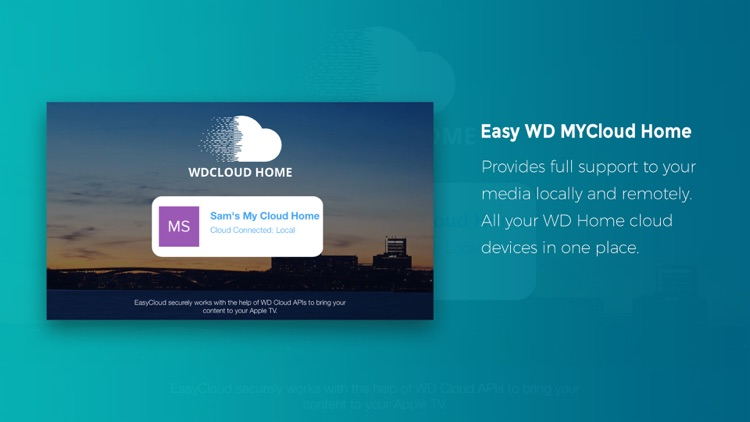 Easy WD MyCloud Home for Apple TV by Muhammad Siddiqui