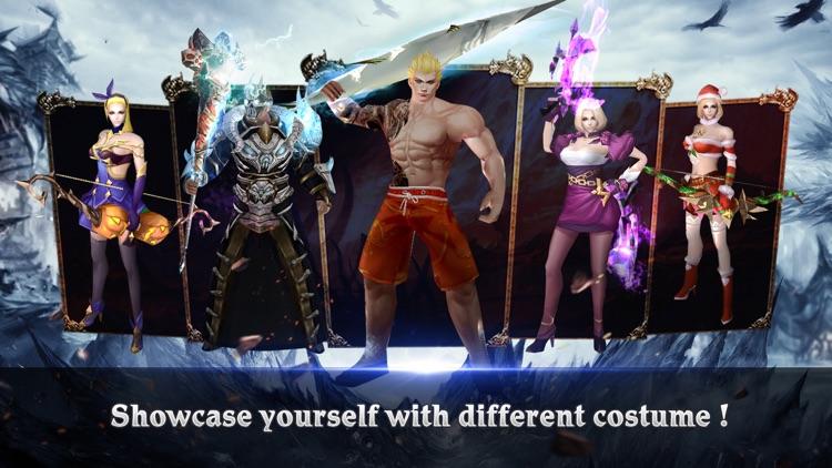 Clash For Dawn-3D PVP MMORPG screenshot-3