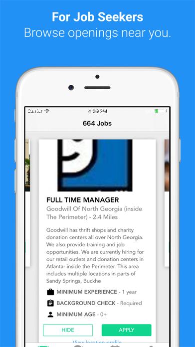 Hirewire - Job Search Screenshot