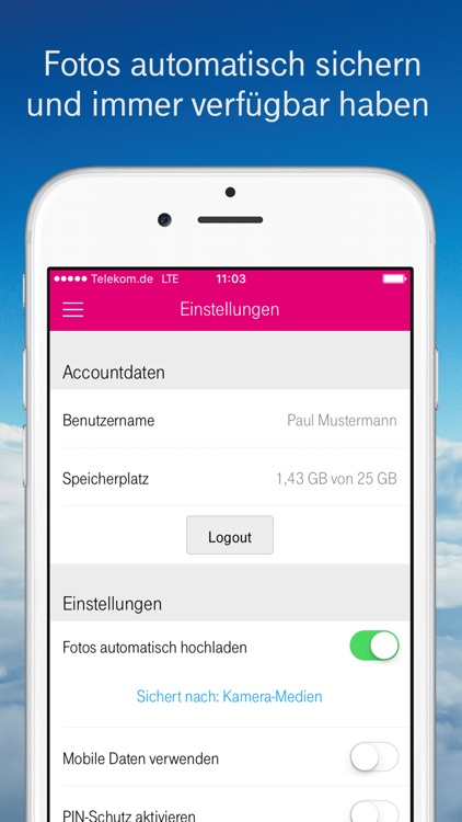 MagentaCLOUD screenshot-4