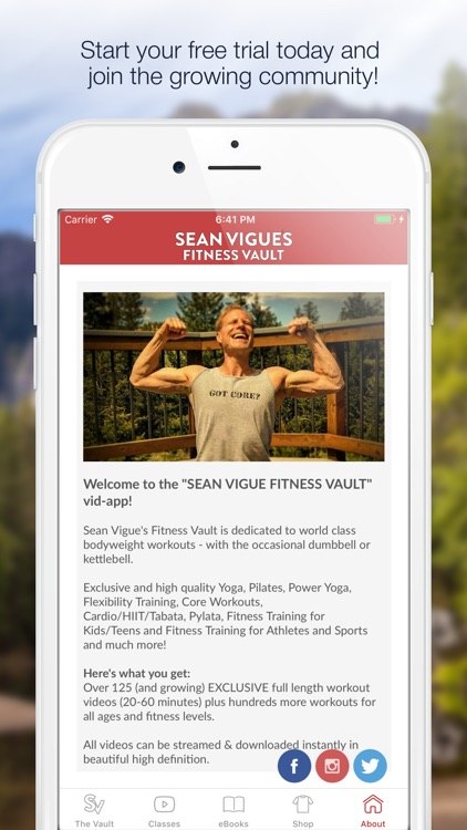 Sean Vigue's Fitness Vault screenshot-3