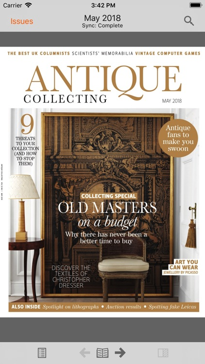 Antique Collecting Magazine