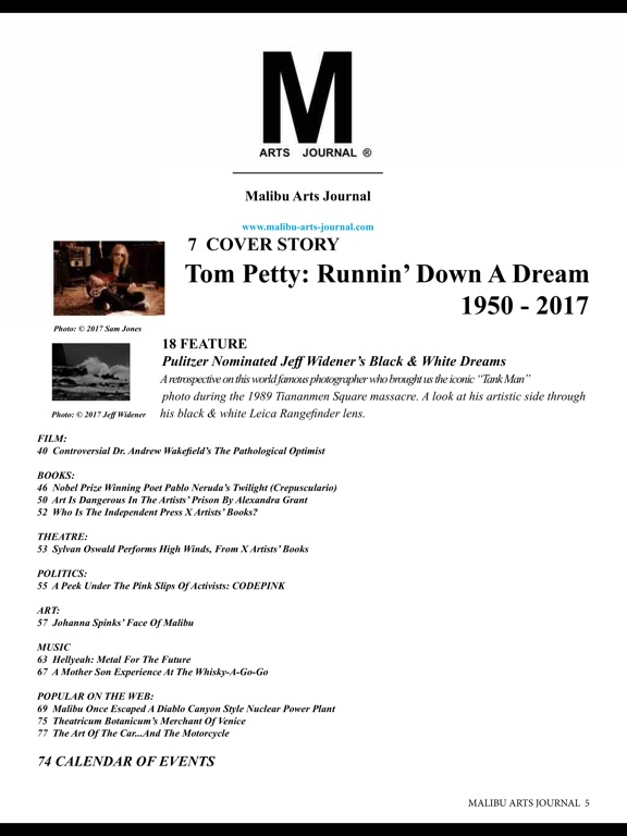 Malibu Arts Journal screenshot 10