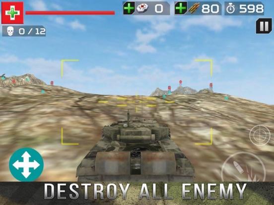 Tank Gunner Shoot 3D screenshot 4